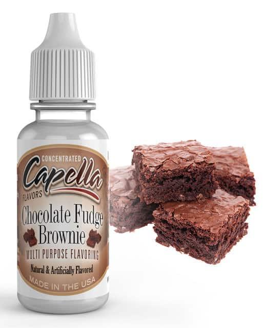 100ml Chocolate Fudge Brownie (Capella V2) E-Liquid Concentrate – £4.99