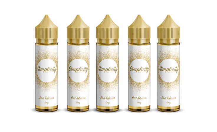 60ml Simplicity E-Liquids – £3.99 at Vapour Depot
