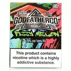 Fizzy Melon by Godfather Co - 3 x 10ml Eliquid