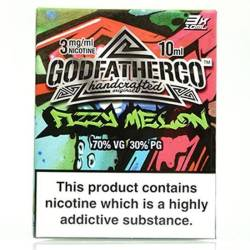 Fizzy Melon by Godfather Co - 3 x 10ml Eliquid