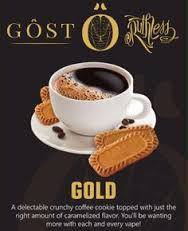 Gost Gold Eliquid by Ruthless