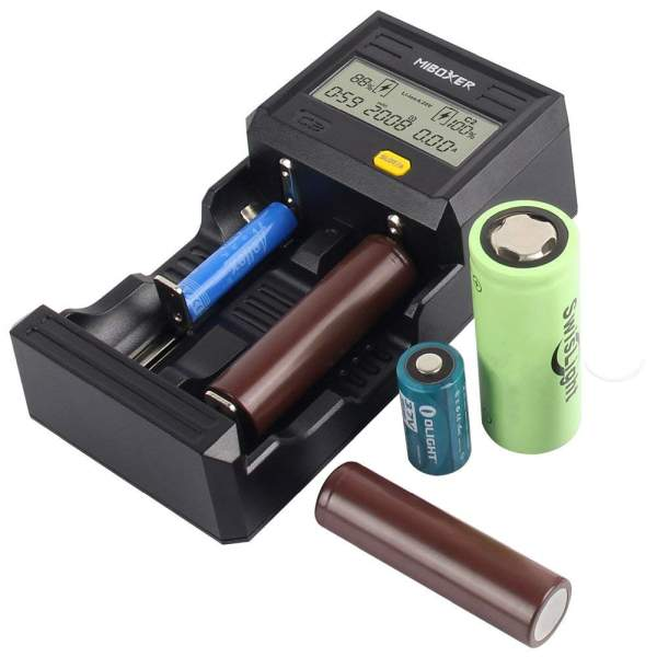 Miboxer C2-6000 3amp Fast Battery Charger – £18.99