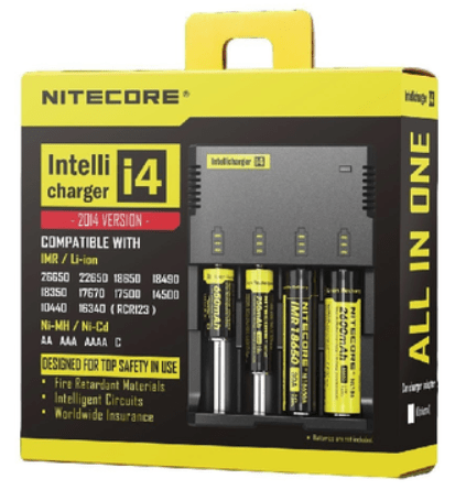 Nitecore Intellicharger New I4 Battery Charger – £11.29
