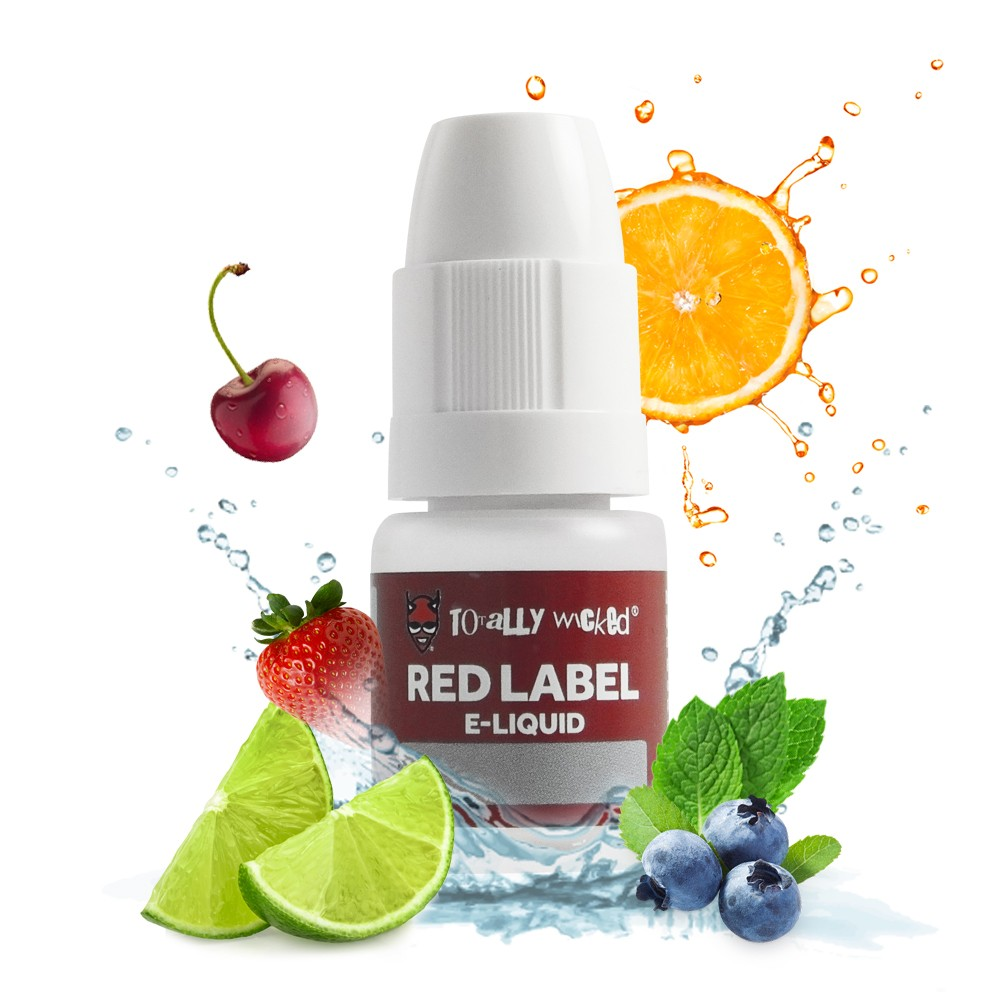 Red Label E-liquid – £3.19 at Totally Wicked