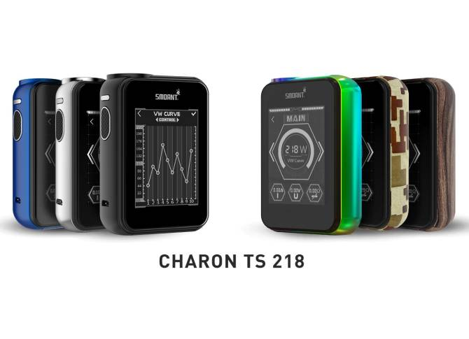 Smoant Charon TS 218W Touch Screen Mod – £35.89 delivered