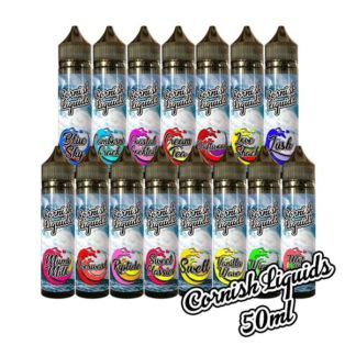 Cornish Liquids 60ml Shortfill – £5.85 At Vaping Nation