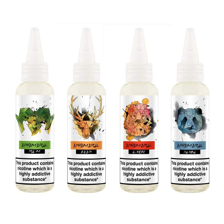 60ml Ephemeral Shortfill E-Liquid (4 Flavours) – £2.00