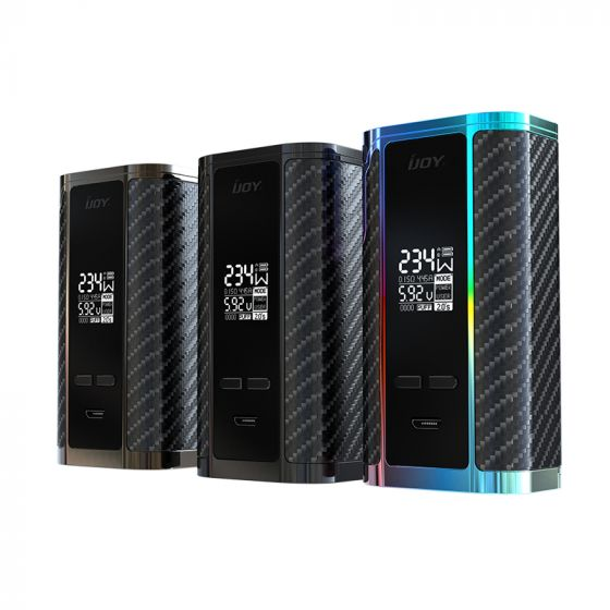 IJOY Captain PD270 Mod 234w (including 2x 20700 Batteries) – £23.35
