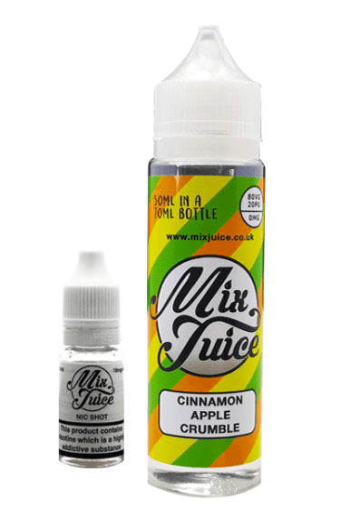 Mix Juice Cinnamon Apple Crumble 60ml – £3.49