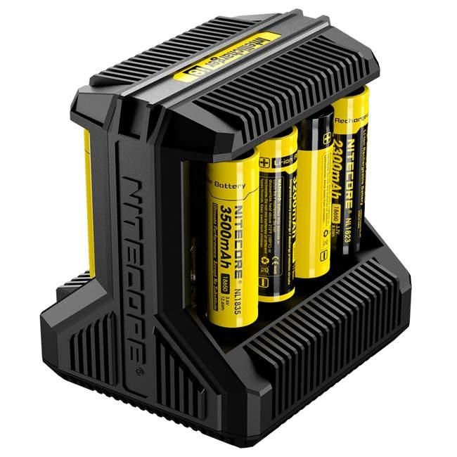 Nitecore i8 Intelligent 8-Slot Battery Charger – £20.79