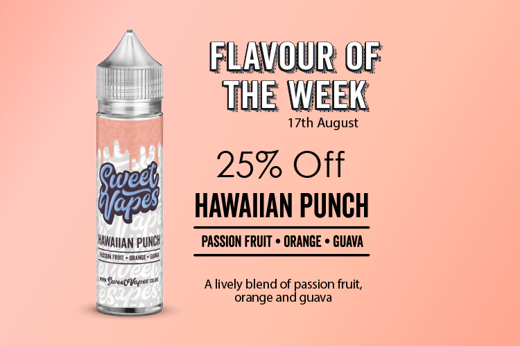 50ml Hawaiian Punch – (Sweet Vapes Flavour of the Week) £4.20