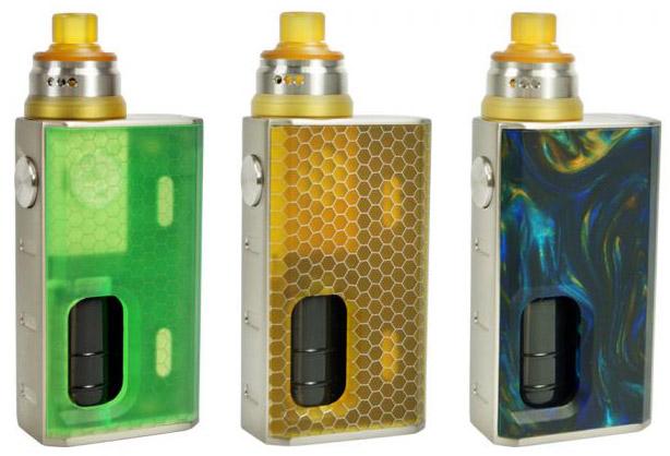 Wismec Luxotic BF Box Including postage & E-liquid – £35.99 At TABlites