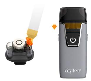 Aspire Nautilus All in one kit bottom refill