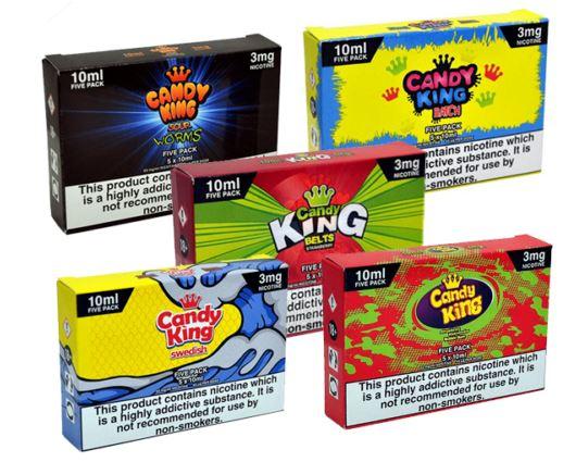 Candy King E-Liquid Mega Bundle 200ml – £4.00