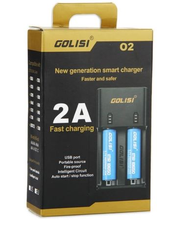 Golisi O2 2.0A Fast Smart Charger – £5.83