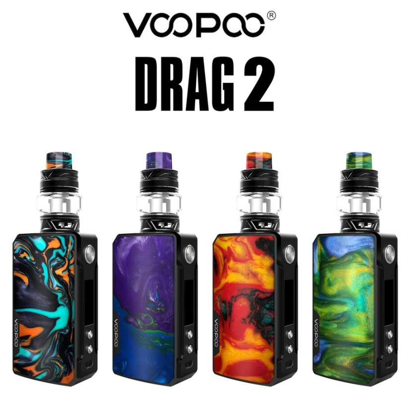 VOOPOO Drag 2 177w Kit with Uforce T2 Tank – £40.21