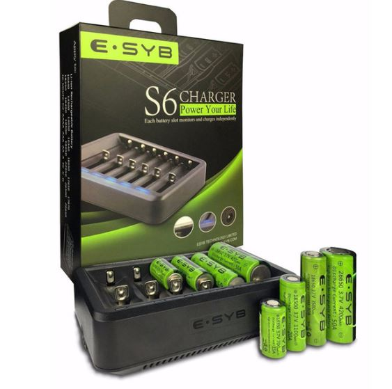 ESYB S6 6-Slot Charger – £7.55