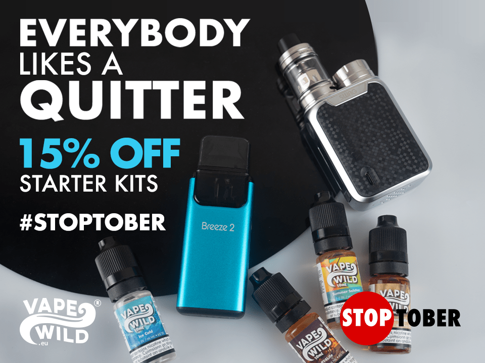 Stoptober Month – 15% off ALL kits