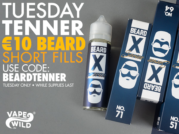 Beard Shortfills 50ml – £8.76