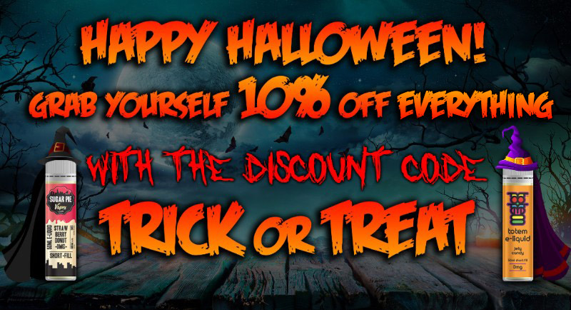 10% off everything for Halloween TABlites