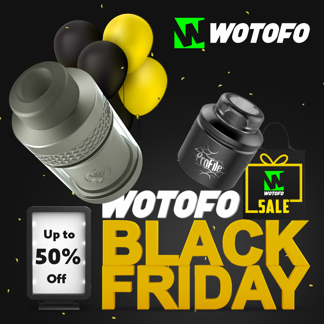 Wotofo 20% Off Site Wide
