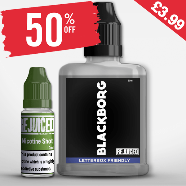 Blackborg 60ml – £3.69 at Rejuiced