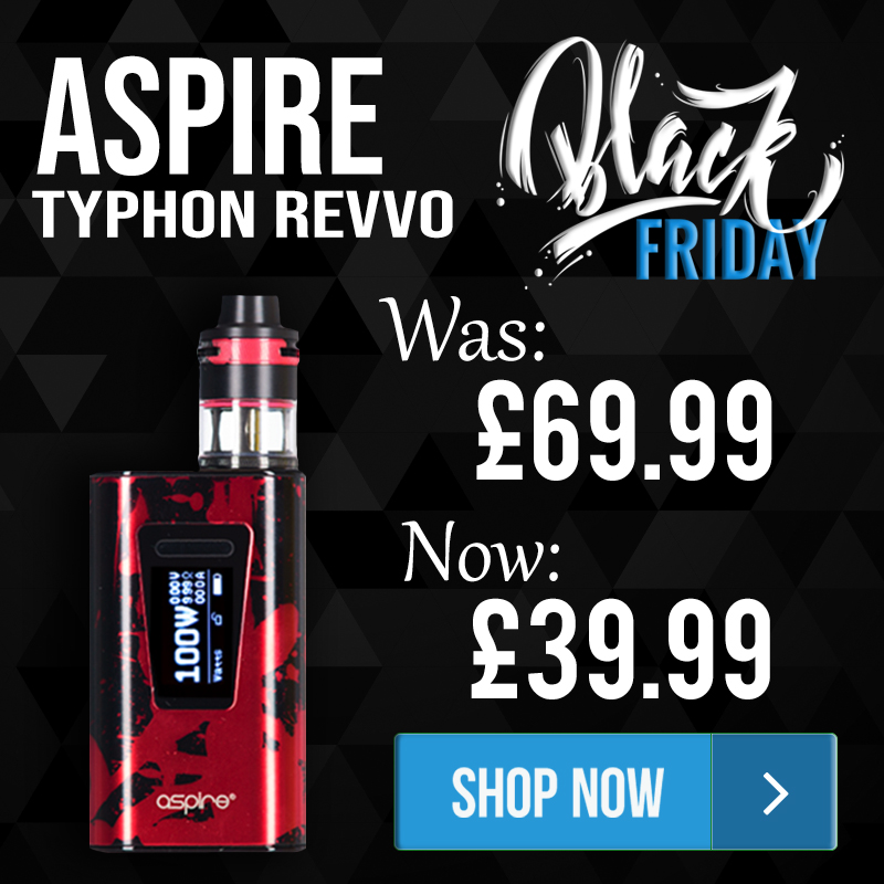 Aspire Typhon Revvo Kit – £39.99 – TABlites