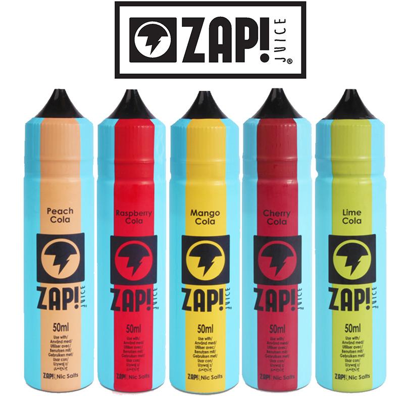 Zap! Vintage Cola 50ml E-Liquid Shortfills – £7.99