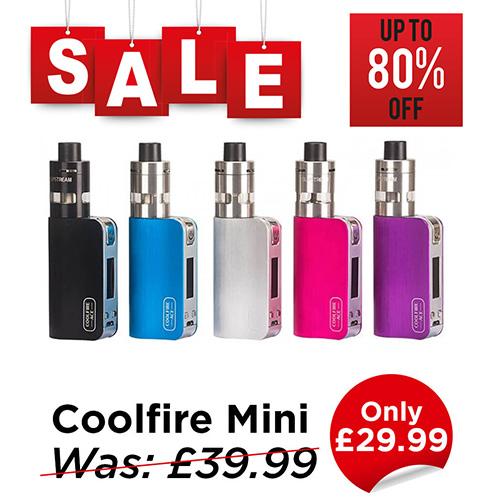 Innokin Coolfire Mini Kit – £29.99 at TABlites