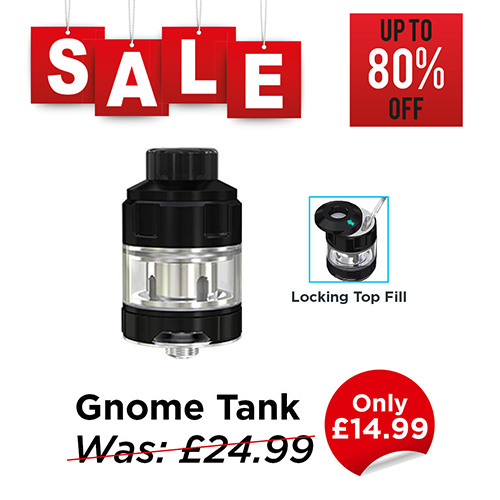 Wismec Gnome Tank – £14.99 at TABlites