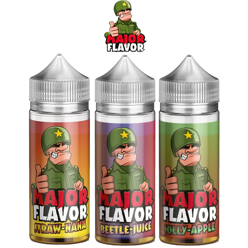 Major Flavor 100ml Short fill – £7.99