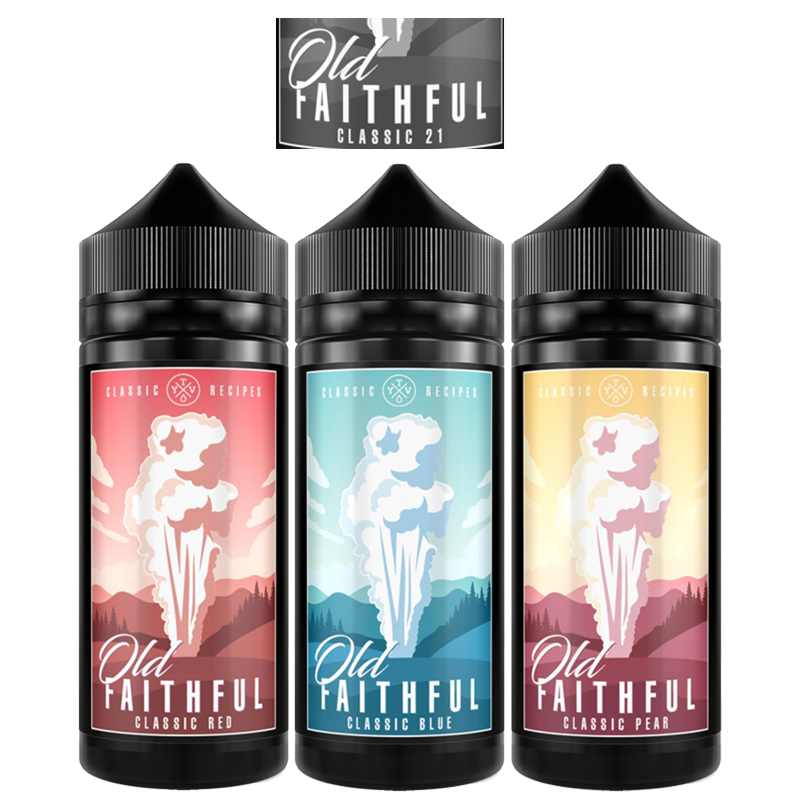 Old Faithful 100ml by The Yorkshire Vaper – £8.99
