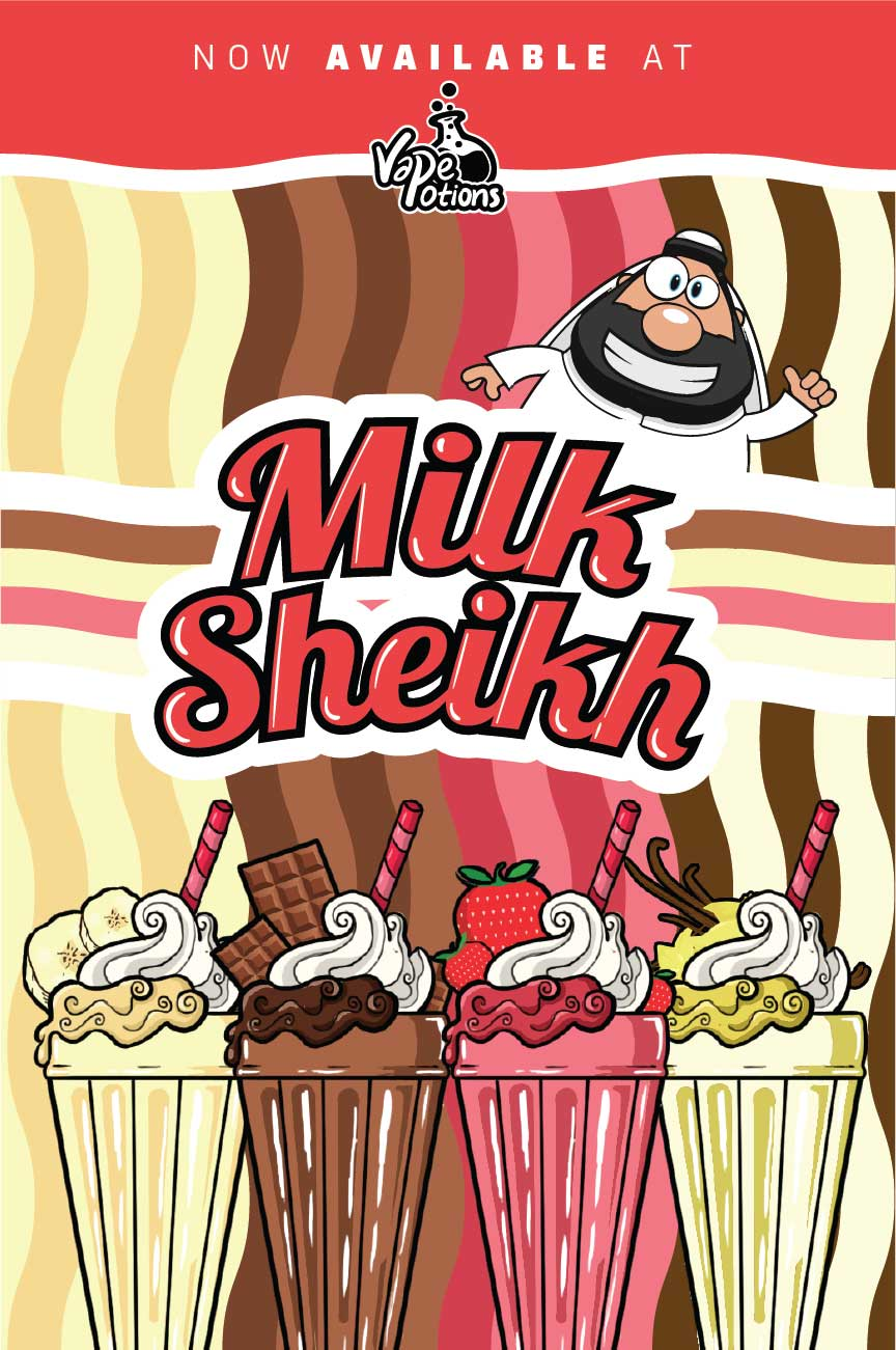 Milk Sheikh 100ml Short Fill – £5.20