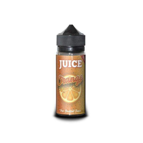 Orange Juice 100ml Short Fill – £4.99