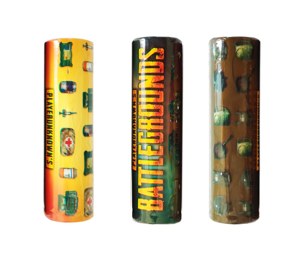 PUBG Style 18650 Battery Wraps (5 Pack) – £0.20