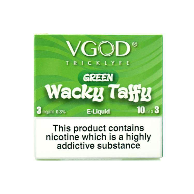 Green Wacky Taffy 3x 10ml – £2.50