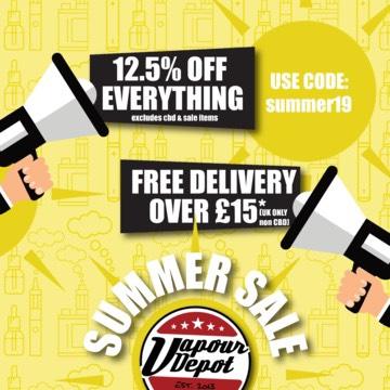 Summer Sale 12.5% Off
