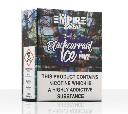 Blackcurrant Ice 3x 10ml – £1.00 by Empire Brew