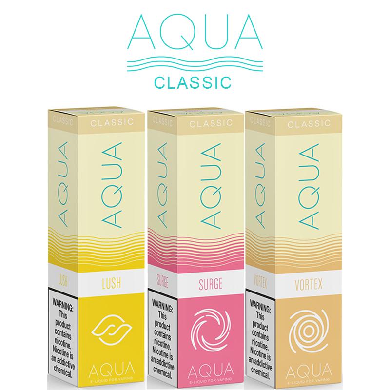 Aqua Classic 50ml E-Liquid Shortfills by Marina Vape – £9.99