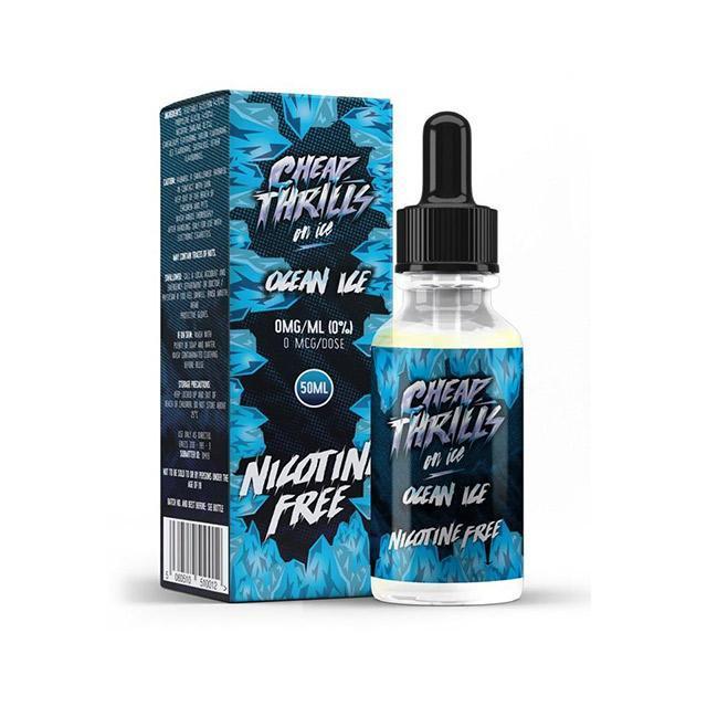 Ocean Ice by Cheap Thrills Juice Co E Liquid 60ml Shortfill – £3.50