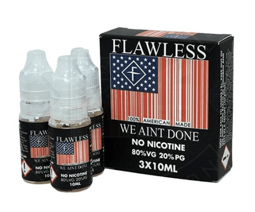 We Aint Done Multi Pack 3x 10ml – £0.49 By Flawless