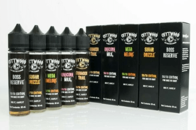 Cuttwood E Liquid Range 60ml Short Fill – £3.99