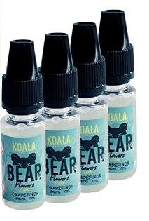 Bear Flavors Koala Multi Pack 4 x 10ml – £2.99