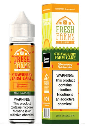 Strawberry Farm Cake 50ml Short Fill – £3.99