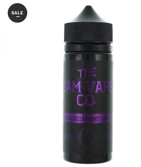 Blackcurrant Jam 100ml Shortfill – £3.99 By The jam Vape Co