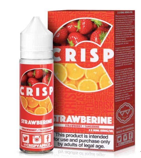 Strawberine 50ml E-liquid Shortfill – £1.99 by Crisp