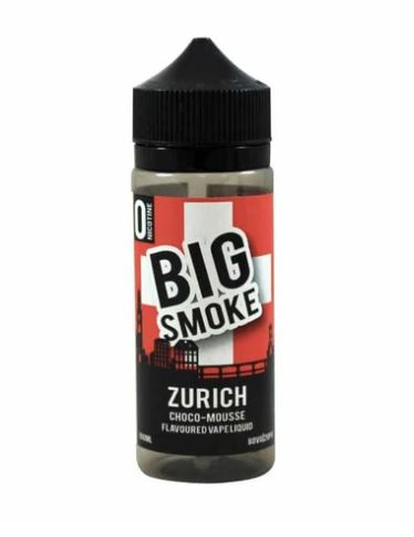 Zurich by Big Smoke 100ml E-Liquid Shortfill – £6.50