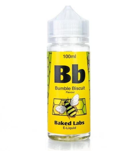 Bumble Biscuit 100ml  Short Fill – £6.00 by Baked Labs