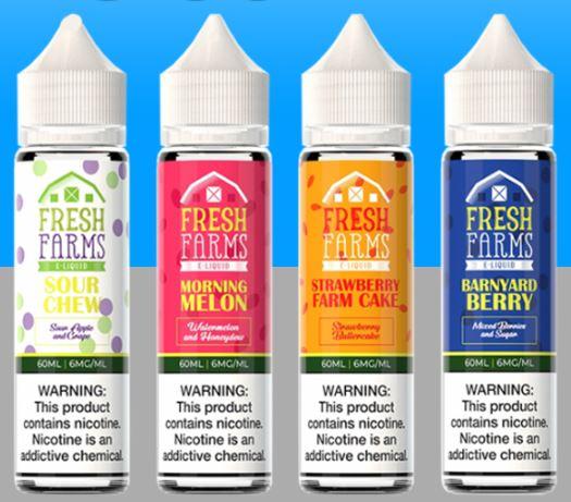 Fresh Farms E-Liquid 50ml Shortfill – £3.99