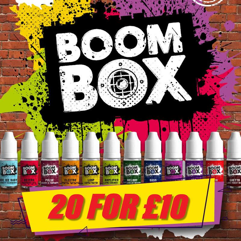 Boom Box E-liquid 200ml – £10.00